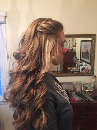 Layered Braids Hairstyles Cool Waterfall Braid For Curly Hair Hair Pinterest Curly