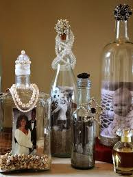 diy mercury glass picture frames luxury how to decorate your old alcohol bottles into frame
