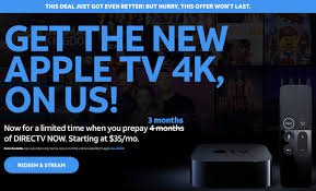 you could also opt for the higher cost packages of directv now when prepaying for three months with the service increasing to 50 month 60 month
