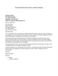 Cover Letter Writing Service Modern Day Financial Services Example