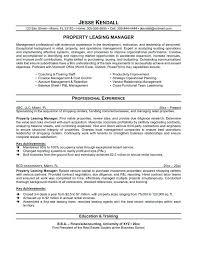25 New Property Management Resume Bizmancan Com