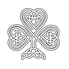 Small Picture Shamrock Coloring Pages GetColoringPagescom