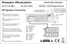 owner's manual Dual 2 Ohm Wiring-Diagram Power Acoustik Wiring Diagram Tv #48