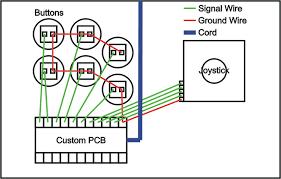 joystick controller pcb and wiring Circuit Board Schematics Joystick Schematic Diagram #47