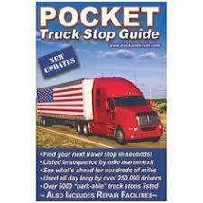 a pocket truck stop guide is a handy yet inexpensive gift for truckers