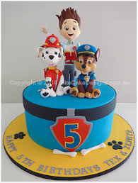 The Paw Patrol kids Birthday Cake Birthday Cakes for kids by