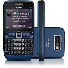 nokia qwerty phones. nokia e63 mobile - ultra blue ! qwerty gsm fm call recording qwerty phones