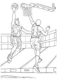 Basketball Coloring Pages Basketball Coloring Pages Basketball
