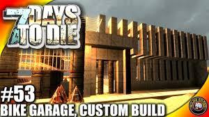 garage 7 days to die. 7 days to die letu0027s play ep53 minibike garage custom base 7d2d gameplay alpha 14 s3 youtube