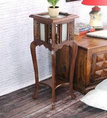 vintage teak furniture. Antique Teak Wood End Table By VarEesha Vintage Teak Furniture