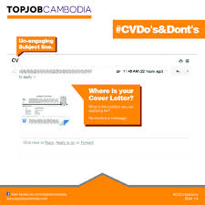 topjob cvdosdonts slide1 140782861941791 jpg check out our guidelines how to write your cover letter top job
