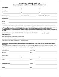 Bsa Medical Form Unique Boy Scout Permission Form Heartimpulsarco