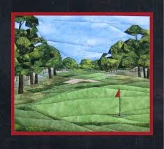 Best 25+ Golf quilt ideas on Pinterest | Golf club covers ... & Golf Anyone? Pieced Quilt Pattern by Cynthia England at England Design Adamdwight.com