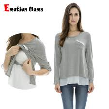 Online Shop <b>Emotion Moms</b> Maternity Clothes <b>Long</b> sleeve ...