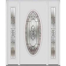 MMI Door 60 in. x 80 in. Cadence Right-Hand Large Oval Lite ...
