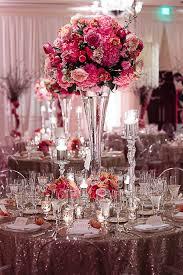 reception arrangements wedding c44b0e6eb79388d25ff3e3b3e2bbf022  reception  arrangements wedding southern wedding tall pink centerpiece ...
