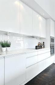 high gloss white kitchen cabinet black white contemporary loft in white white gloss ikea high gloss