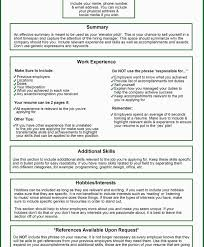 Things Put On Your Resume Practicable Screnshoots In Summary Awesome