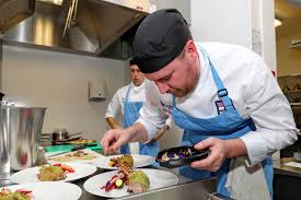 Navy Cook Royal Navy Take On Students In Cooking Challenge