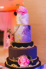 Cakes Desserts Photos Black Marble Gold Wedding Cake Inside