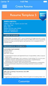 Resume Builder Reviews Elegant Free Resume Builder App Professional