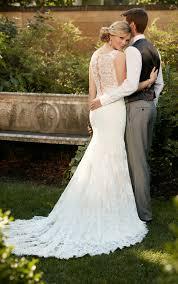 Essense Designs Australia Romantic Lace Wedding Gown I Essense Of Australia