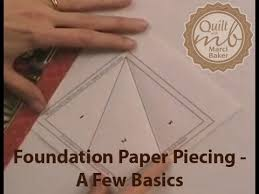 Foundation Paper Piecing - A Few Basics - YouTube &  Adamdwight.com