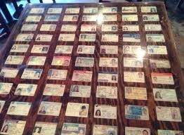 Bar With Fake Tables Seized Ids Decorates Funny Their TTrx6g