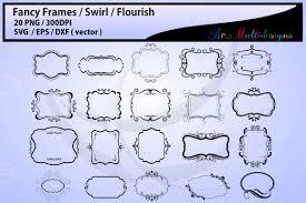 Labels With Border Fancy Frames Svg Fancy Labels Svg Frames Eps Borders Label Digital Set Borders Backgrounds Frames Cut File Empty Label Frame