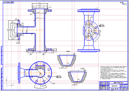 Все работы студента Клуб студентов Технарь  Тройник фонтанной арматуры Чертеж Оборудование для добычи и подготовки нефти Курсовая работа