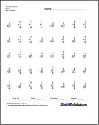 Multiplication Facts Worksheets Understanding To Fact Family 3rd ...