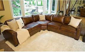 rustic leather sectional. Unique Sectional Chic Rustic Leather Sectional Sofa Sofas Intended O
