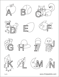 Alphabet tracing, coloring cards and worksheets. Printable Coloring Pages Free Printable Templates Coloring Pages Firstpalette Com