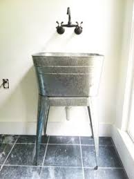 metal utility sink. Perfect Metal Galvanized Laundry Sinks Perfect For Farmhouse Room Or Garden For Metal Utility Sink