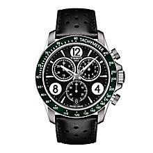 tissot watches quality swiss watches ernest jones watches tissot v8 men s stainless steel strap watch product number 5009723