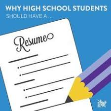 Image result for high school resumes