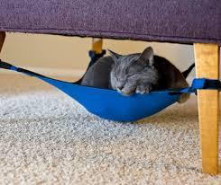 A space-saving cat hammock your feline will love!