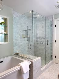 terrific frameless and glass corner shower doors traditional bathroom with a frameless shower glass enclosure