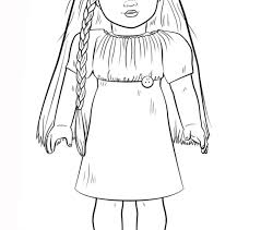 Small Picture American Girl Doll Julie Coloring Coloring Pages