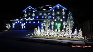 Blue White Outdoor Christmas Lights 20 Most Wonderful Lights Decoration Ideas For Christmas