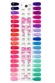 Dnd Gel Nail Polish Color Chart 2019 Dc Gel Duo Set Color Chart 1 001 To 036 In 2019 Gel