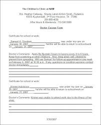 Doctors Note Template 8 Free Word Excel Pdf Format Download Free
