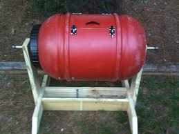 diy compost tumbler barrel