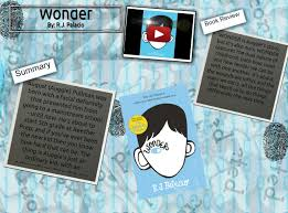book review 3 made by glogster wonder wonder