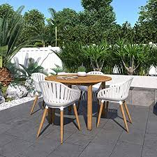 Brampton Cartagena <b>5</b>-<b>Piece Outdoor</b> Rectangular <b>Dining</b> Table Set