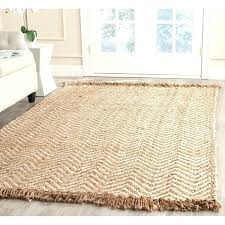 chevron jute rug natural fiber hand woven chevron off white natural brown jute rug pottery barn