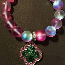 alpha kappa alpha jewelry alpha kappa alpha sorority charm bracelet