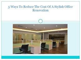 office renovation cost. Office Renovation Cost. Cost
