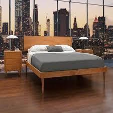 Wooden furniture design bed Stylish Larssen Collection Vermont Woods Studios Modern Wood Furniture Vermont Woods Studios