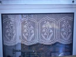Free Crochet Curtain Patterns Custom Decorating Ideas